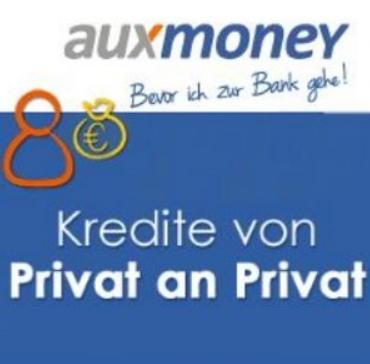 auxmoney kredite vo privat